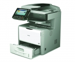 Ricoh Aficio SP 5210SF - Multifunktionslaserdrucker, A4, S/W - Scanner Kopierer Fax LAN